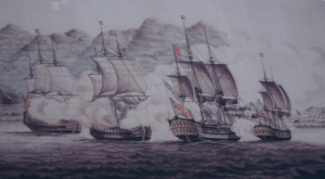 Battle of Muizenberg Artist Painting