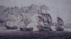 Battle of Muizenberg Artist Painting