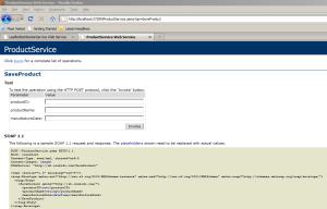 .NET Web Service Operation Definition
